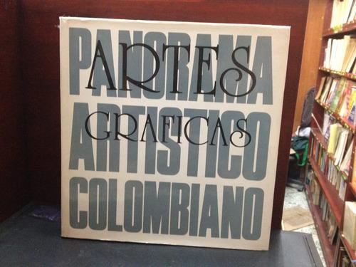 panorama artístico colombiano iv - artes gráficas - 1983