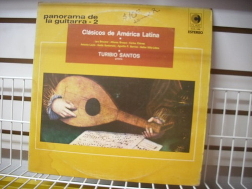 panorama de la guitarra 2 - clásicos de américa latina lp