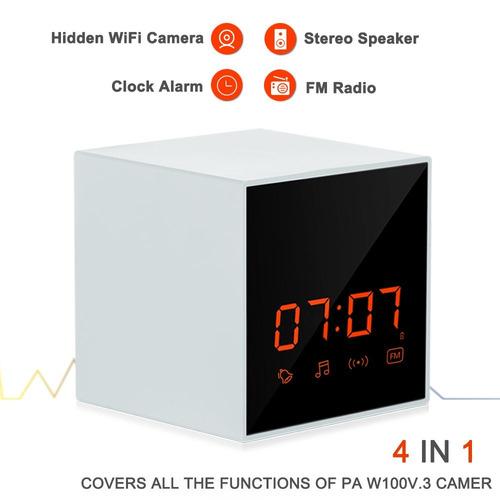 panoraxy music wifi cámara oculta, lente invisible, altavoz