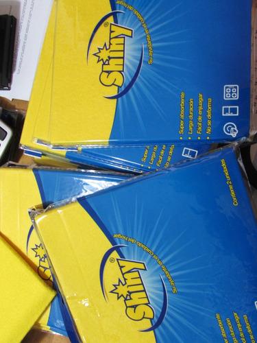 paños absorbentes amarillo shiny 1*6 und