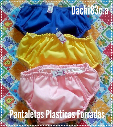 pantaleta plástica dachi83. impermeables p-m-g-xg-xxg oferta