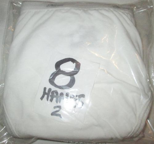 pantaletas blancas  algodon talla 8 hi cut hanes