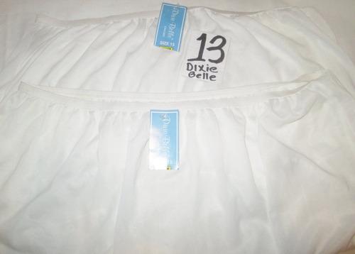 pantaletas nylon plus para mujer talla 13 dixie belle