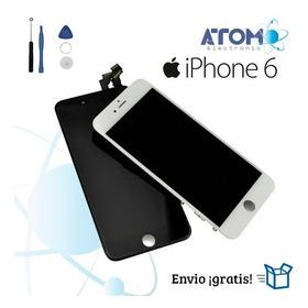 Pantalla + Touch Lcd/display iPhone 6 Blanco Y Negro + Kit