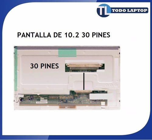 pantalla 10.2 30 pines utech led lcd acer asus hp