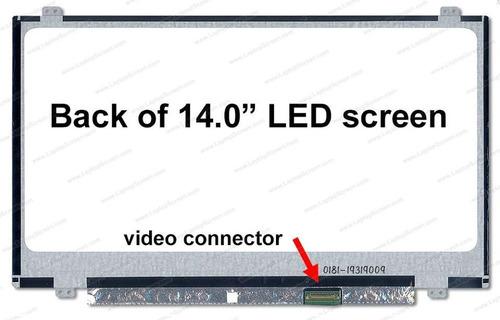 pantalla 14.0 led slim 30 pinesacer travelmate p246-m series