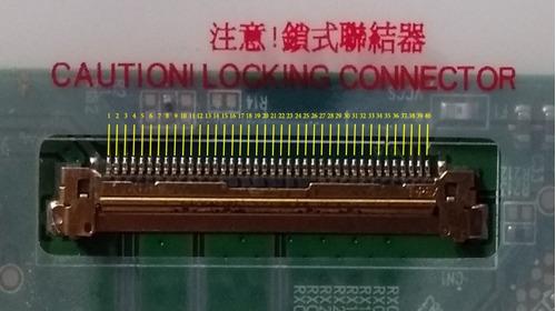 pantalla 15.6 led 40 pines n156b6-l0b rev. c1 gateway z5wgm