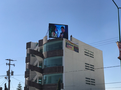pantalla 2x2 mts  led exterior gigante picht 6mm