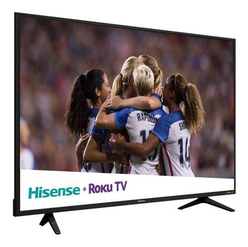 pantalla 55 pulgadas smart tv 4k hisense roku tv uhd 55r6e