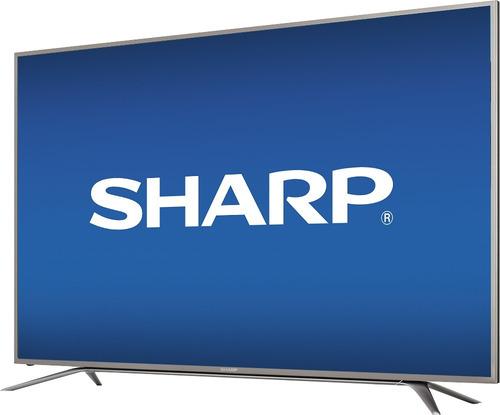 pantalla 65 smart tv sharp aquos 4k uhd led 18 meses sin in