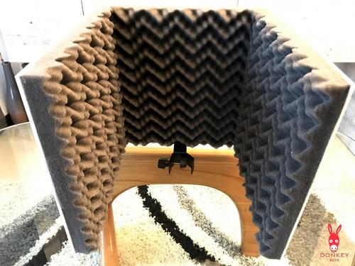 pantalla acustica para grabación voz / instrumentos