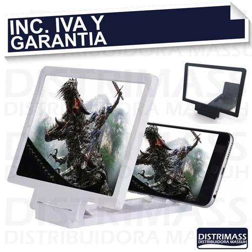 pantalla ampliadora lupa celular inc iva y garantia