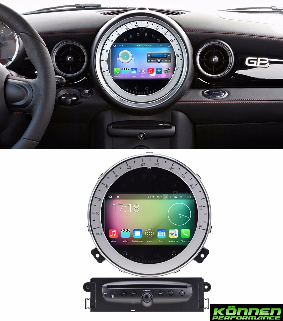 pantalla android mini cooper 07 13 jcw r56 estereo gps. Black Bedroom Furniture Sets. Home Design Ideas