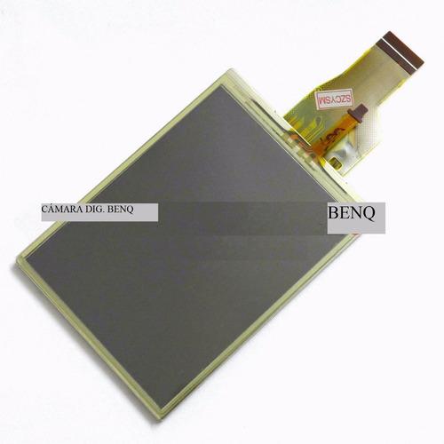 pantalla cámara benq modelo t1260 t1460 lcd +táctil+backligh