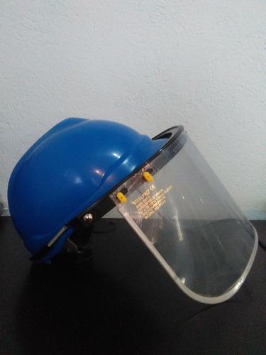 pantalla clara de policarbonato adptable a casco