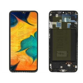 Pantalla C/marco Samsung Galaxy A20 A205 Oled Display +touch