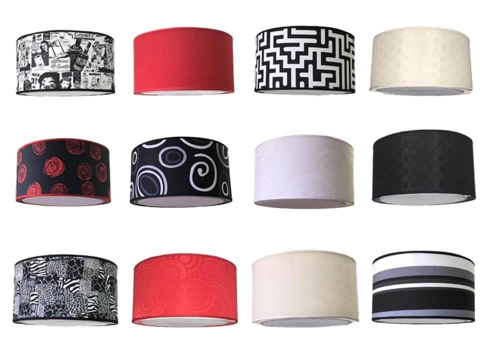 Techo Pantalla Negro 35 Color Colgantes De 20 Cm Lampara X shtdQr