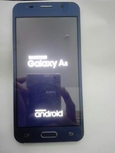 pantalla completa coreana samsung galaxy a8 color azul