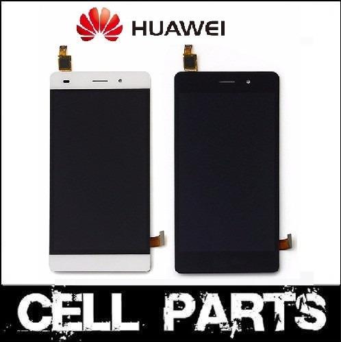 pantalla completa display tactil vidrio huawei p8 lite