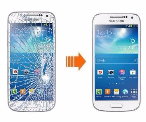 pantalla cristal galaxy s3,4 mini + regalo audifonos samsung