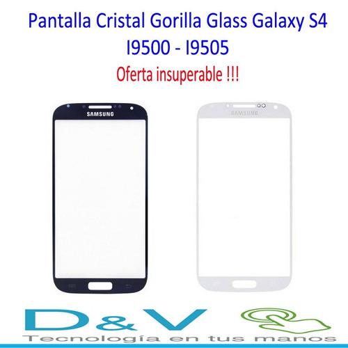 pantalla cristal gorilla glass galaxy s4 i9505-i9500 oferta!