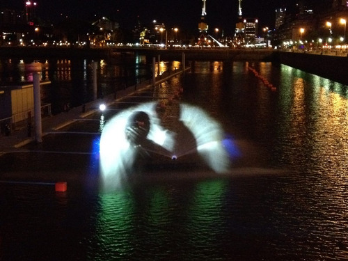 pantalla de agua, fuentes de aguas danzante, shows acuaticos