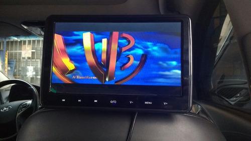 pantalla de asiento xtrons,de 10.1, dvd, usb, hdmi, juegos
