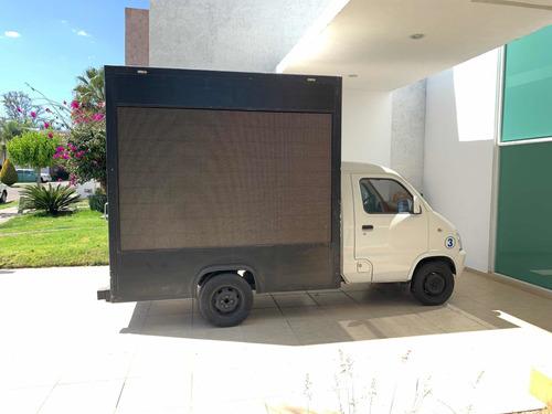 pantalla de leds en camion 2015 faw para publicidad