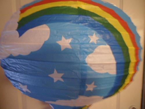 pantalla de papel modelo globo aerostatico padrisimo