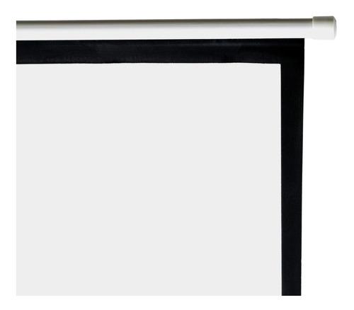 pantalla de proyeccion con tripie, 120'' pulgadas, retractil, 3.05 mts