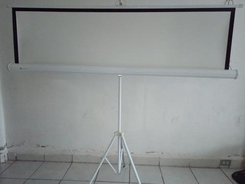 pantalla de proyeccion con tripie (tripod screen) 1.78x1.78