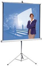 pantalla de proyeccion de tripode 240cm x 180cm