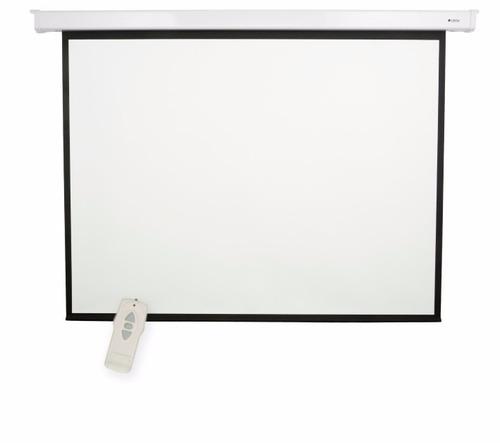 pantalla de proyeccion eléctrica loch es100 211 x 161 cm 4:3