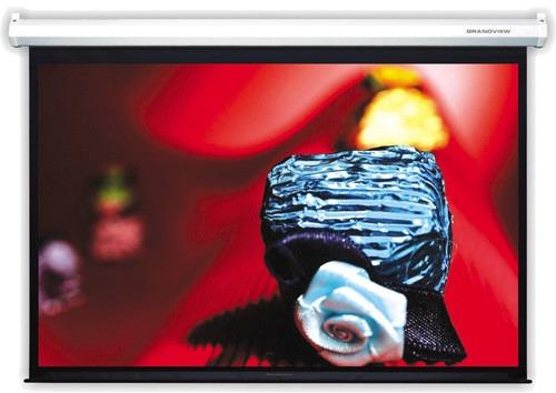 pantalla de proyeccion manual 90'' pulgadas 1,83 x 1,37