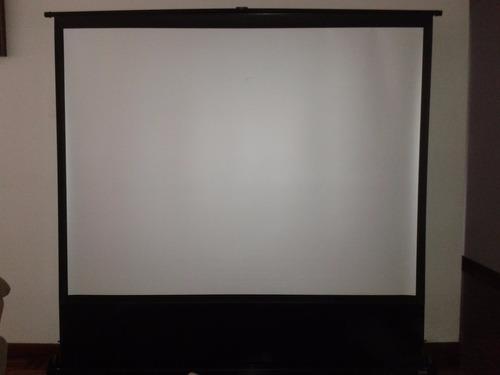 pantalla de proyección medidas: 1:62 de ancho x !:22 de alto
