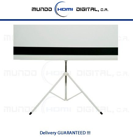 pantalla de proyeccion tripode proyector/video beam 100''