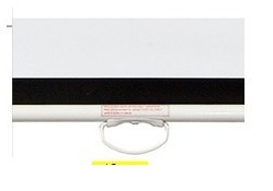 pantalla de proyector manual techo/pared 84'' 171x128