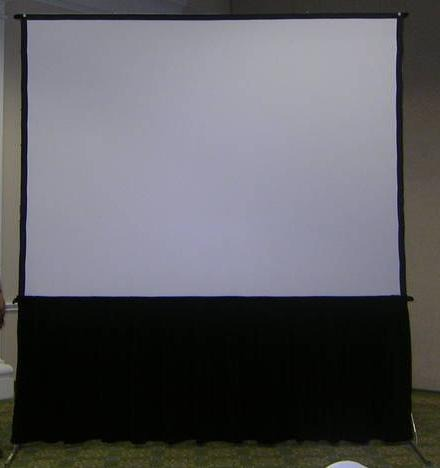 Pantalla de proyector proyeccion delantera trasera 4x3m for Pantalla para proyector