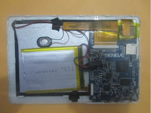 pantalla de tablet techsonic r700b - repuestos