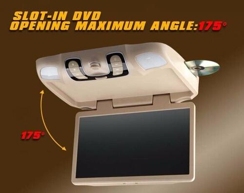 pantalla de techo boomerang de 15.6 con juegos/dvd/tvdigital