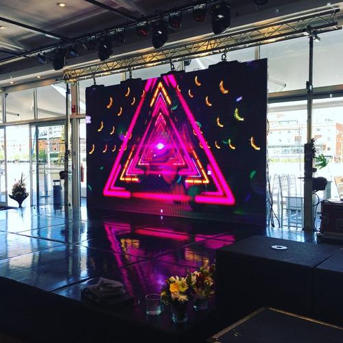 pantalla de video gigante de led , alquiler
