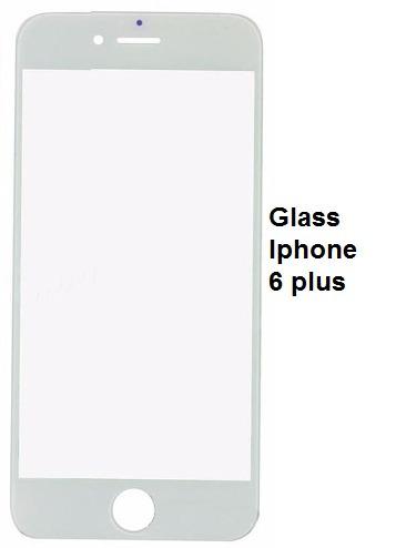 pantalla de vidrio iphone 6 plus