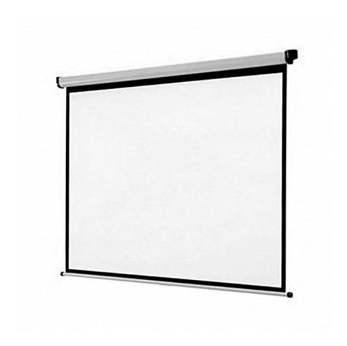 pantalla desplegable 100  para proyectores -oferta 6 pagos