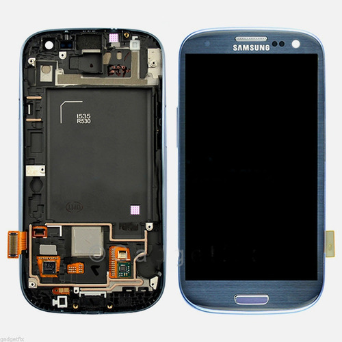 pantalla digitalizador blue samsung galaxy s3 i535 r530 lcd