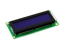 pantalla display 16x2 lcd 1602 backlight azul arduino