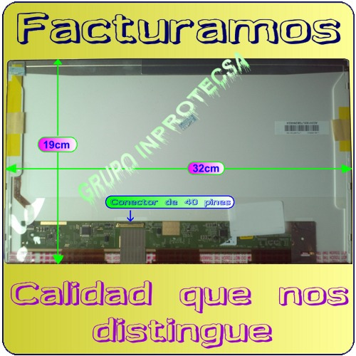 pantalla  display hp dv4 dv4-4000 dv4-4065la de 14 led mmu