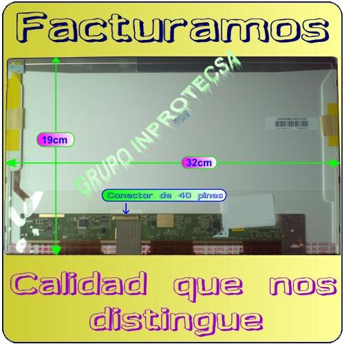 pantalla  display hp dv4 dv4-4000 dv4-4266la de 14 led mmu