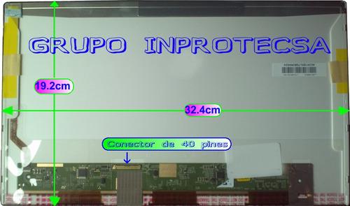 pantalla display laptop toshiba