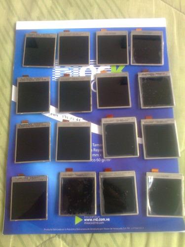pantalla display lcd blackberry 8100, 8120