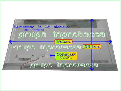 pantalla display lcd dell